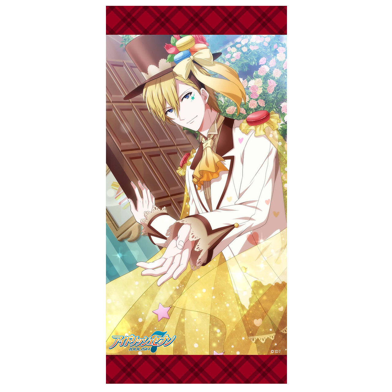 【4573155987220在.】アイドリッシュセブン【お菓子】ミニタペストリー 六弥ナギ