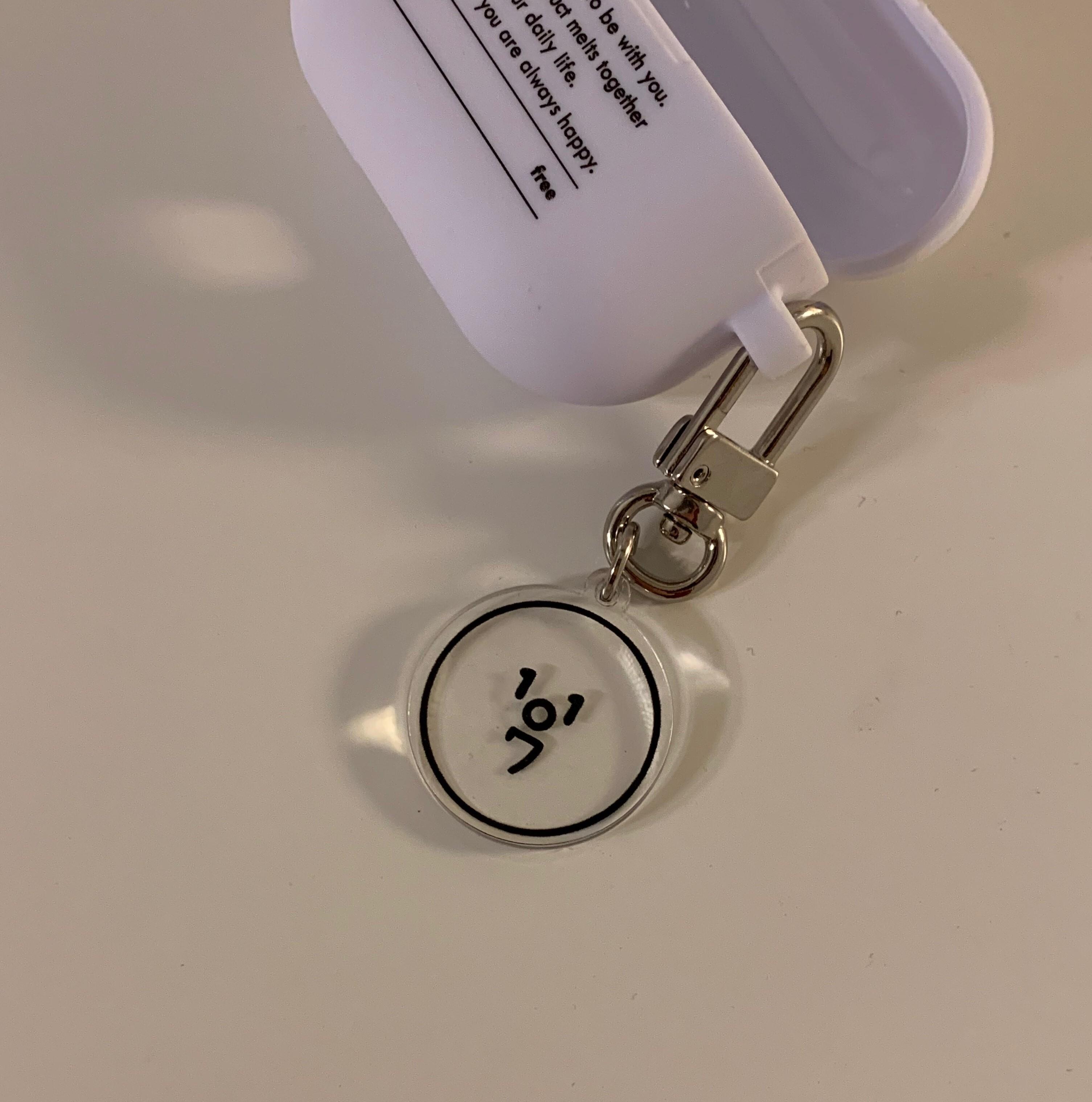 新色追加![OA-47] ミニキーホルダー(1107ロゴ)全2色