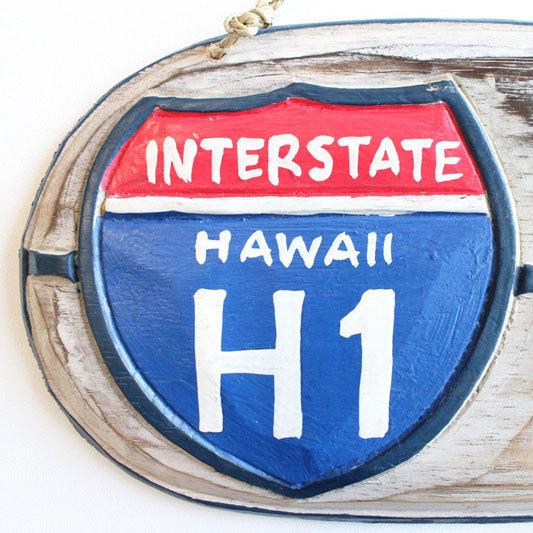ハワイアン サインボード(H1) zi0001