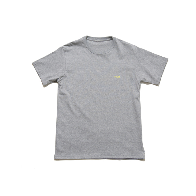 "SPICE COLOR PRINT TEE ""FRUIT"" - GRAY"