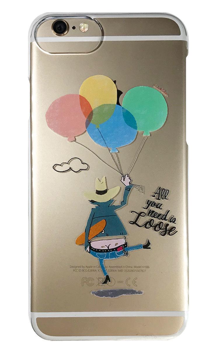 Balloon クリアハードケース
