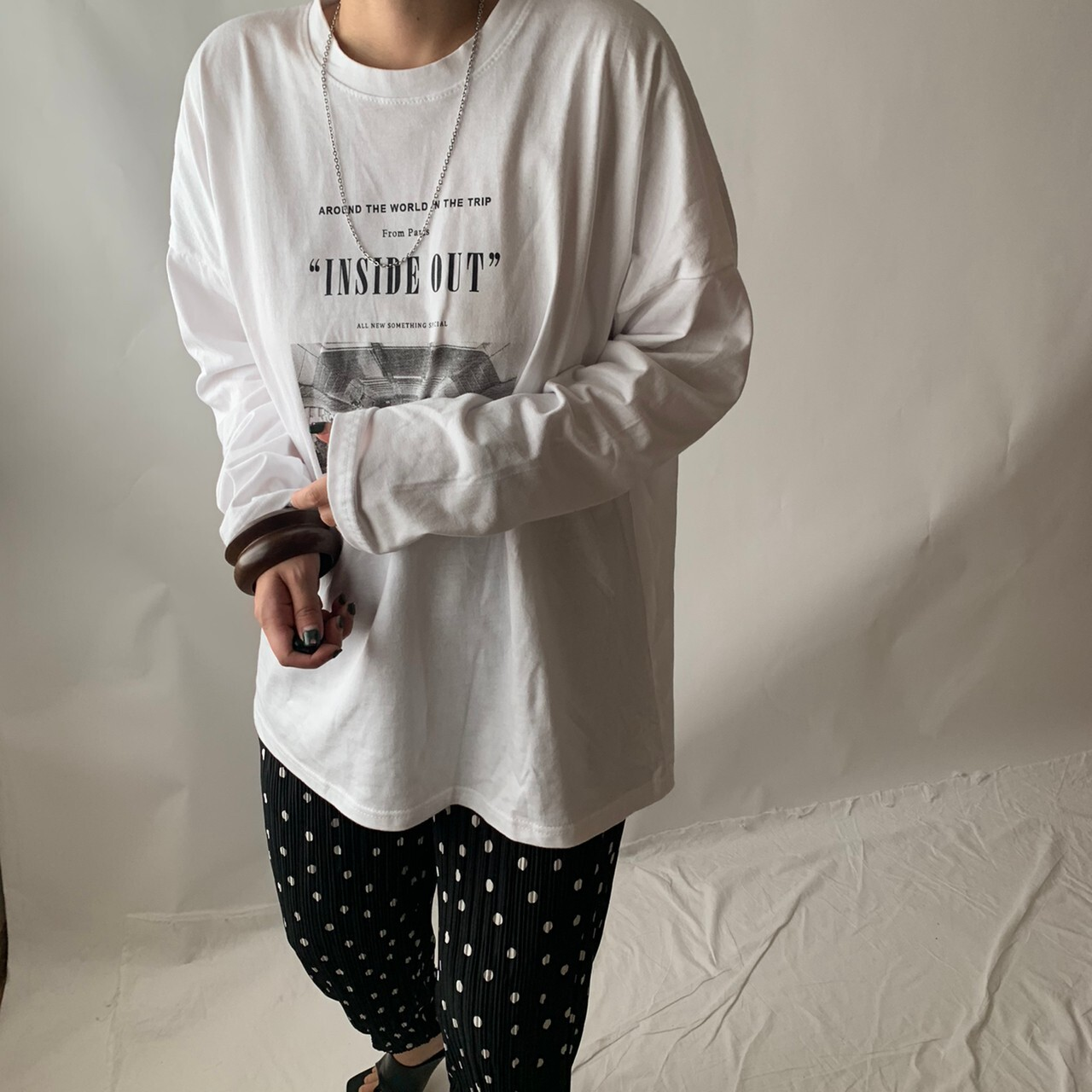 """【asyu】""""inside out"""" long T"""