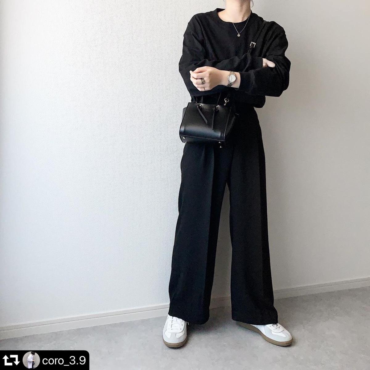 【送料無料】 きれいめシルエット♡ 大人カジュアル フェミニン ハイウエスト タック ストレート パンツ ワイドレッグ