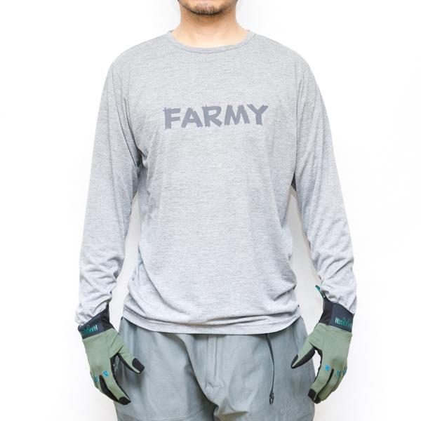 FOXFIRE×HARVESTA! 防虫素材スコーロンL/S T-SHIRTS  グレー