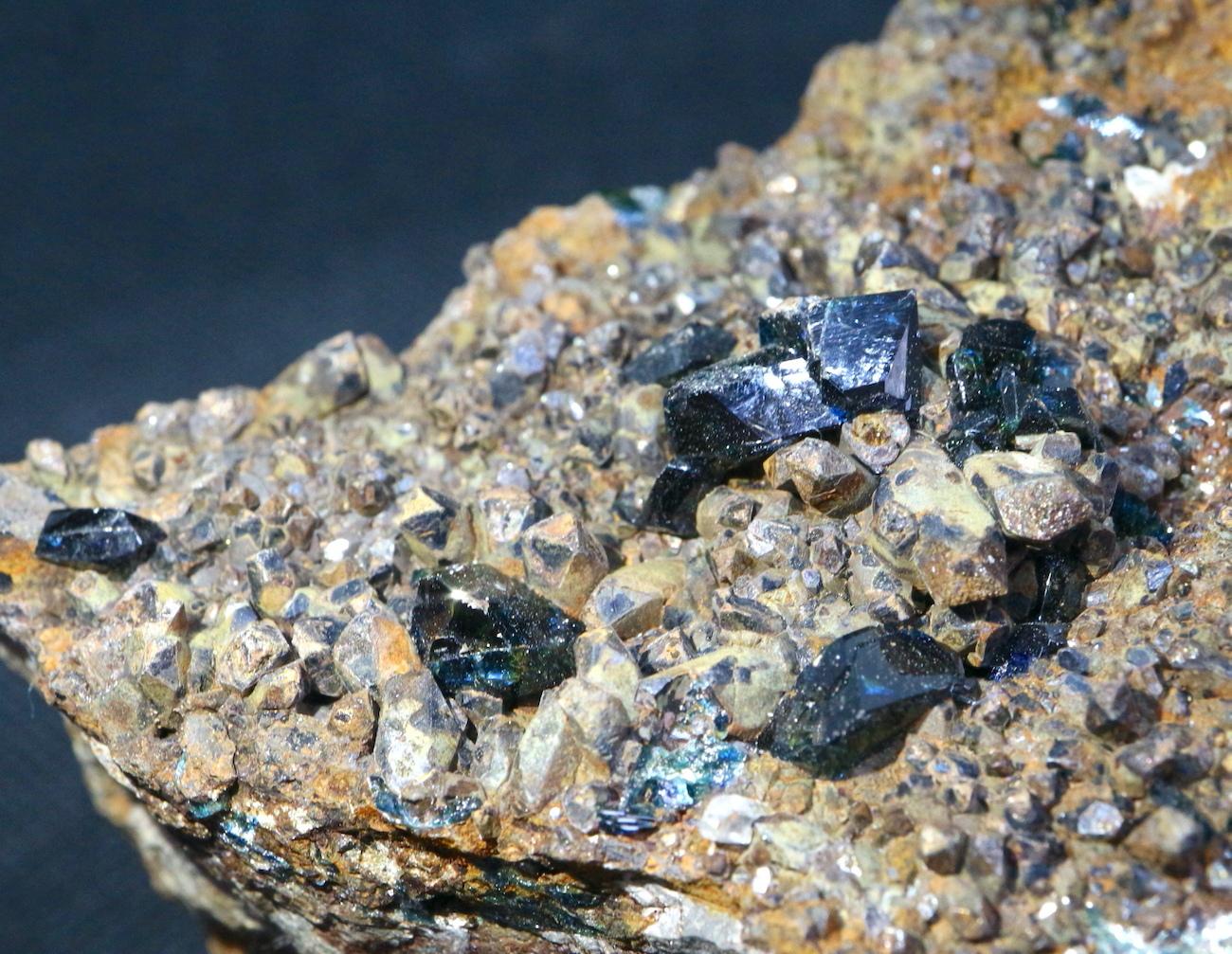 ラズライト天藍石 Lazulite カナダ産 550g LZL002  鉱物 天然石 パワーストーン 原石