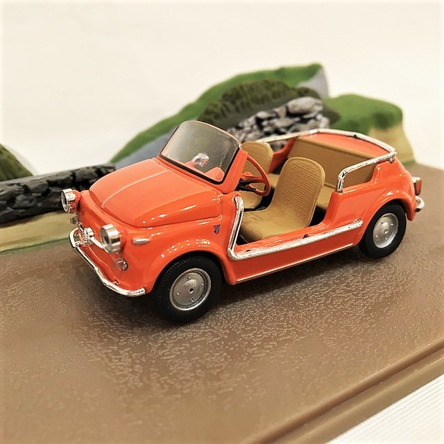 Fiat 500 Jolly USA Diorama 1/43【CANENCO】【1個のみ】【税込価格】
