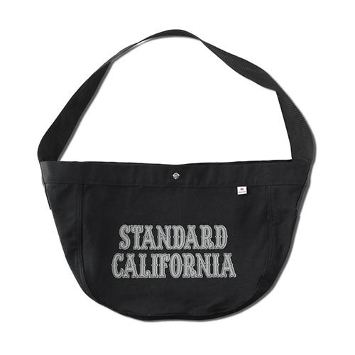STANDARD CALIFORNIA #SD Made in USA News Paper Bag Black