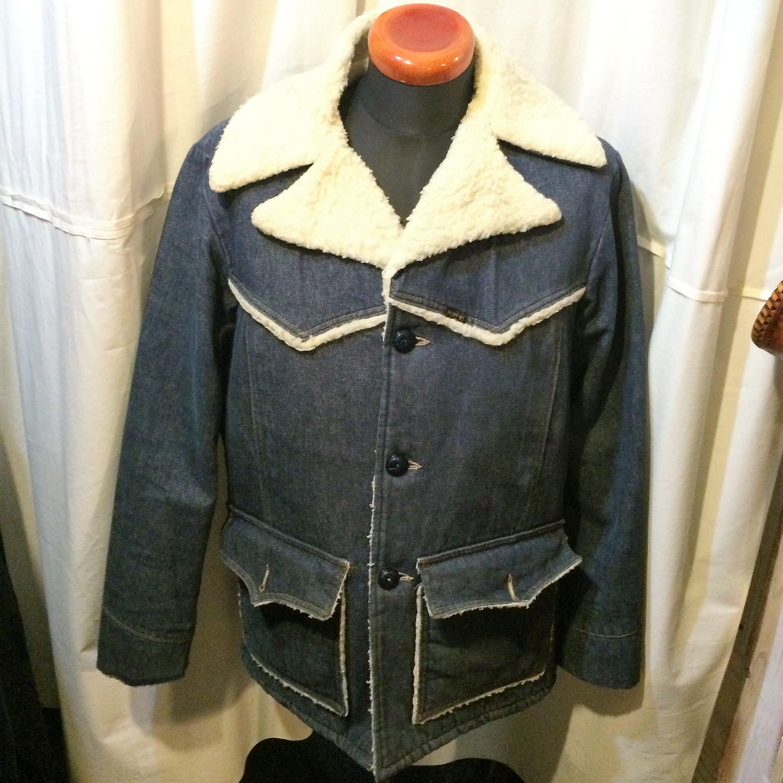 70's vintage Sears ROEBUCKS デニムボアジャケット