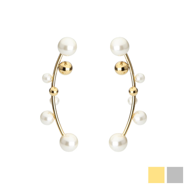 C line pearl 2way pierce