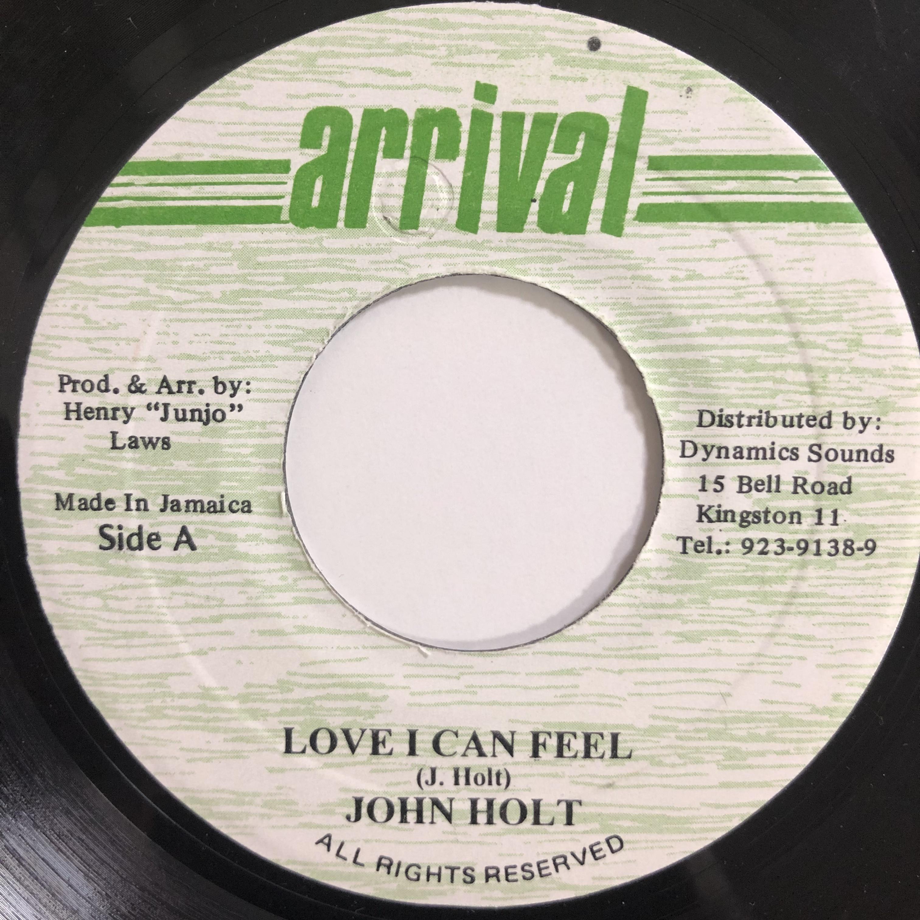 John Holt(ジョンホルト) - A Love I Can Feel【7-20227】