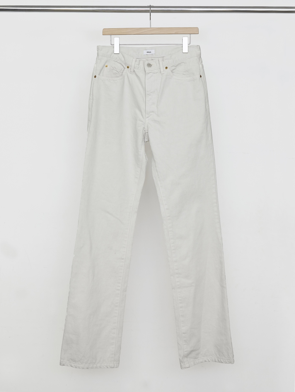 Garment Dye Flare Pants - Gray