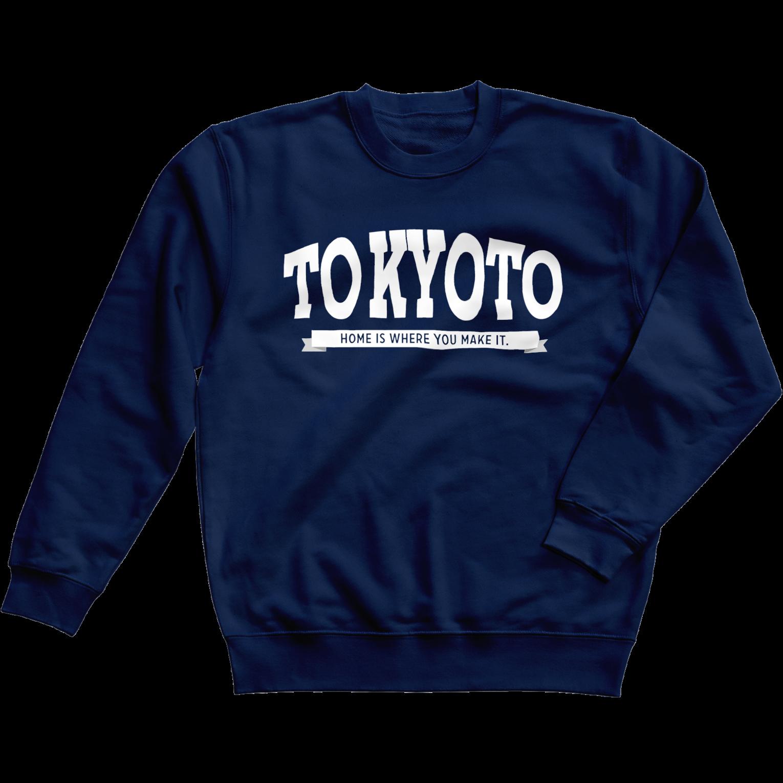 TOKYOTO to KYOTO スウェット