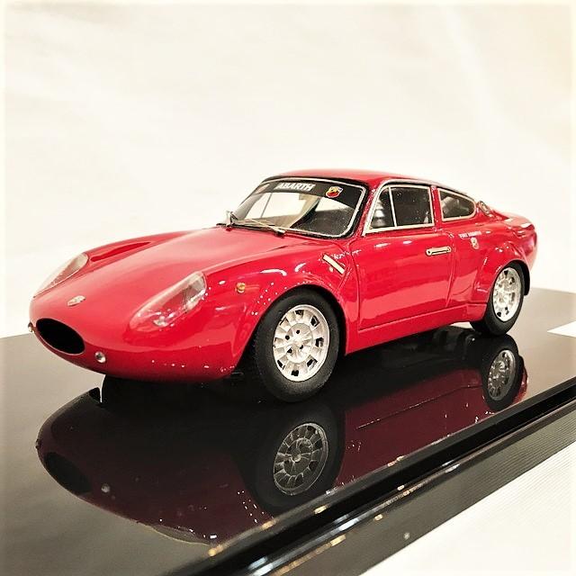 Fiat Abarth 1000 Bialbero GT Longnose Ser.Ⅲ 1/24【1個のみ】【税込価格】