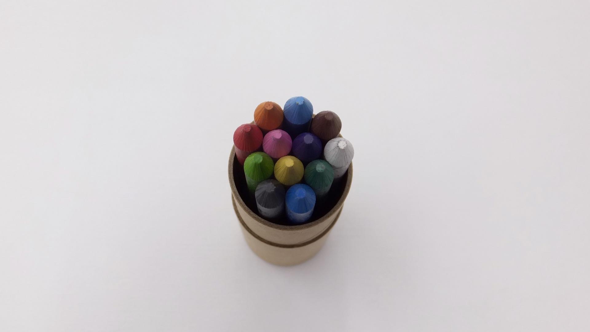 月光荘 色鉛筆