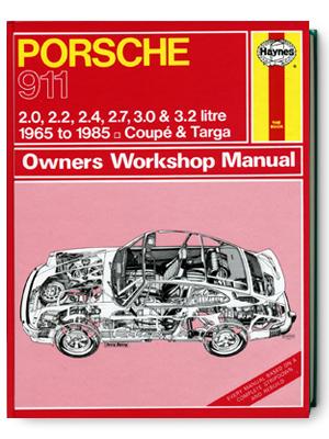 ポルシェ・911・クーペ & タルガ・1965-1985・オーナーズ・ワークショップ・マニュアル