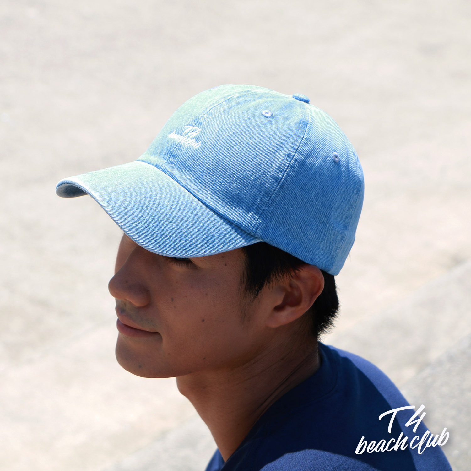 【TF006】 T4beachclub 6PANEL DENIM CAP