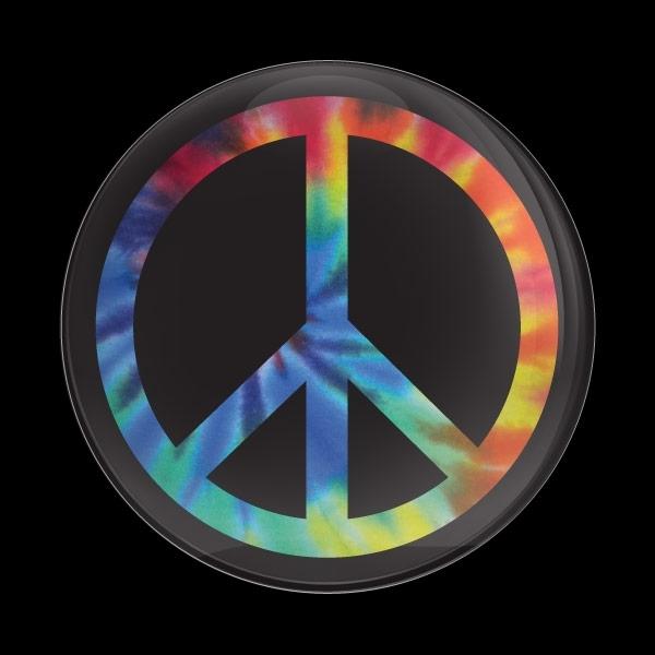 ゴーバッジ(ドーム)(CD1079 - PEACE TIE DYE) - 画像1