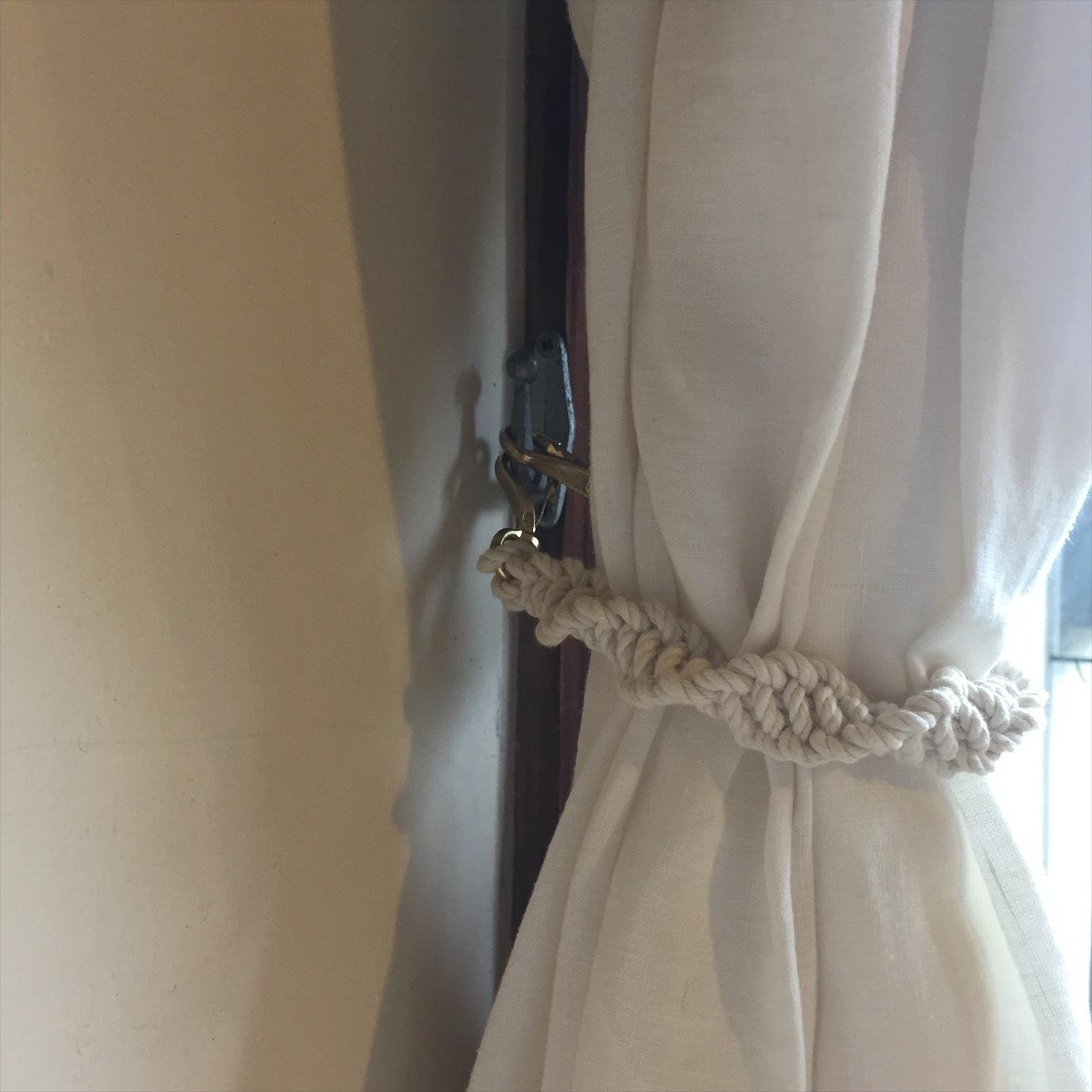 Macrame Curtain Tieback B