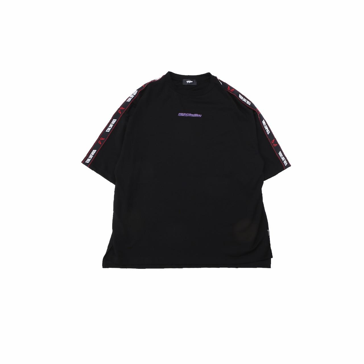 MYne × BADBOY T-shirt / BLACK - 画像1