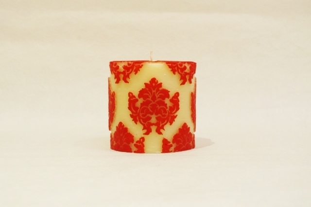 Orchid Small Pillar/Red