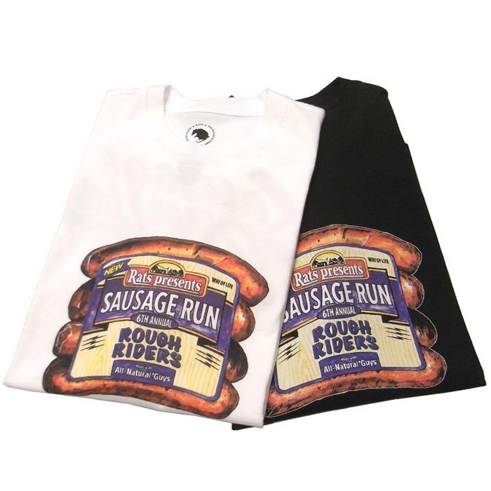 RATS(ラッツ) / SAUSAGE RUN 6th T-SHIRT(18'SRT-0701)(Tシャツ)