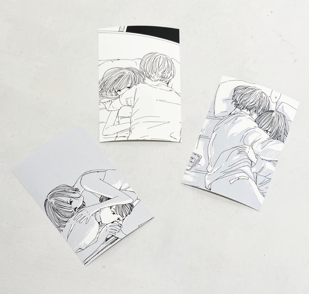 ふせでぃ / ポストカード3枚セット