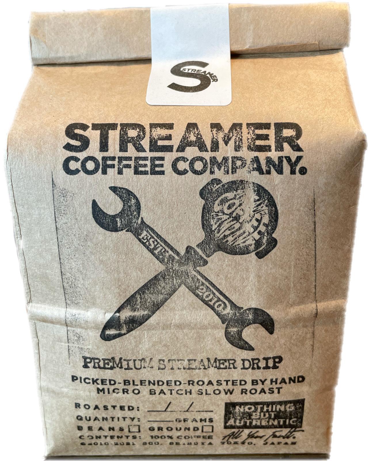 プレミアムストリーマードリップ コーヒー PREMIUM STREAMER DRIP  200g  豆のまま(ブラジル・コロンビア)