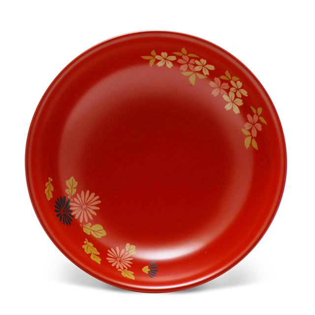 手塩皿4.0洗朱菊さくら 低 (3)