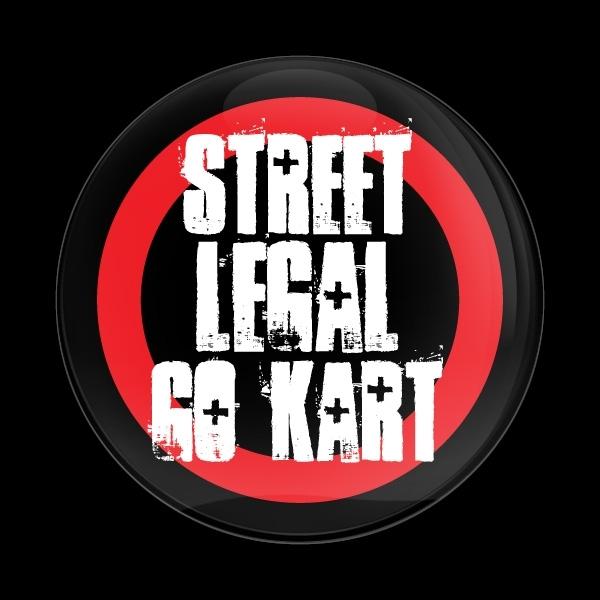 ゴーバッジ(ドーム)(CD0611 - STREET LEGAL GO KART) - 画像1