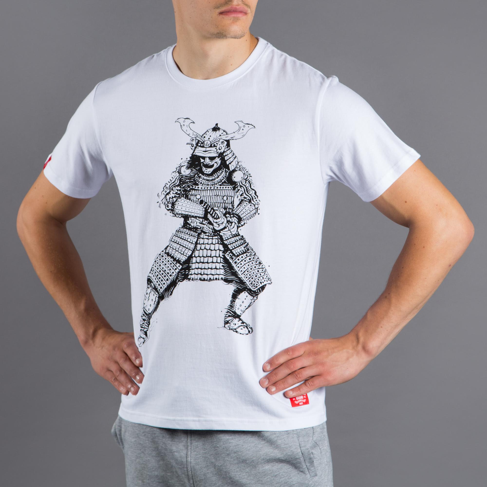 SCRAMBLE SAMURAI T-SHIRT|格闘技 柔術Tシャツ