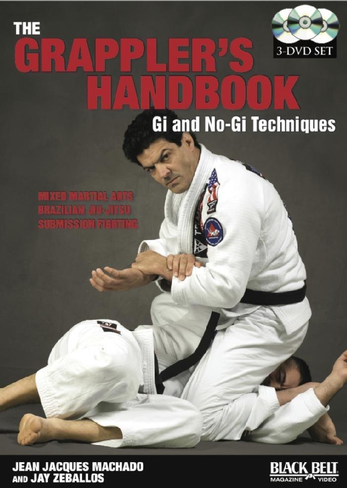 ジャン・ジャック・マチャド The Grappler's Handbook DVD3枚組 ブラジリアン柔術教則