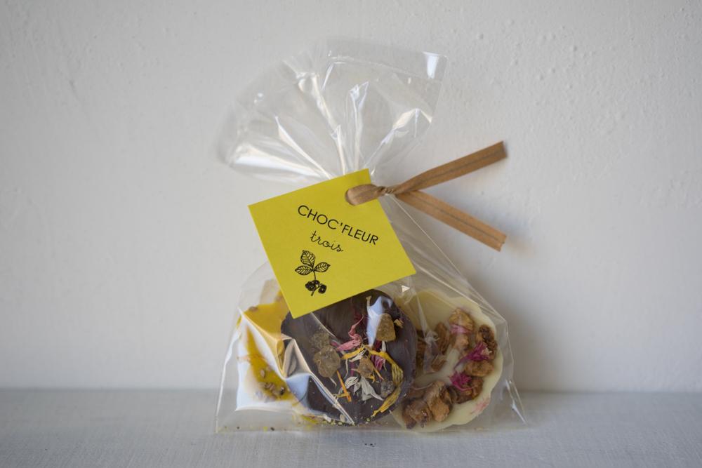 CHOC'FLEURS(ショックフルール) 花チョコレート トロワ【 A 】