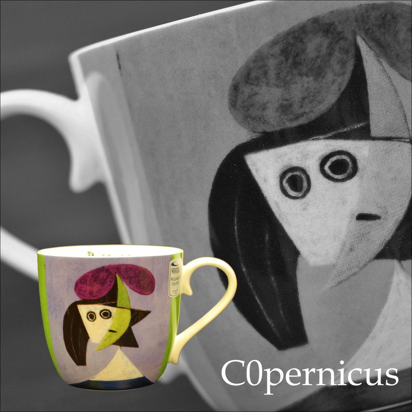 Picasso - Woman with a Hat  オルガ /ピカソ1935 【artマグカップ】   浜松雑貨屋C0pernicus