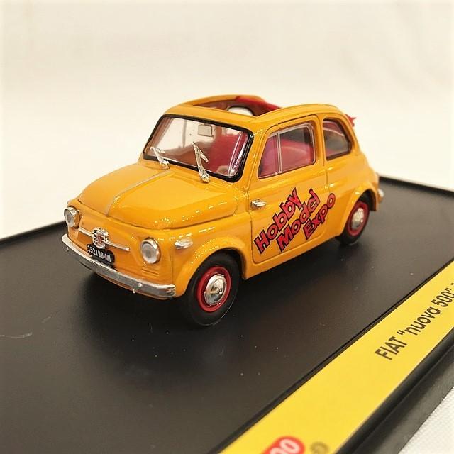 Fiat Nuova 500 1957 Hobby Model Expo 2003 1/43 【brumm】【1個のみ】【税込価格】