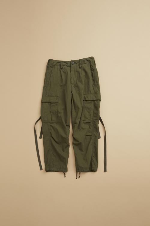 アーミーカーゴパンツ / ARMY CARGO PANT - WEATHER CLOTH