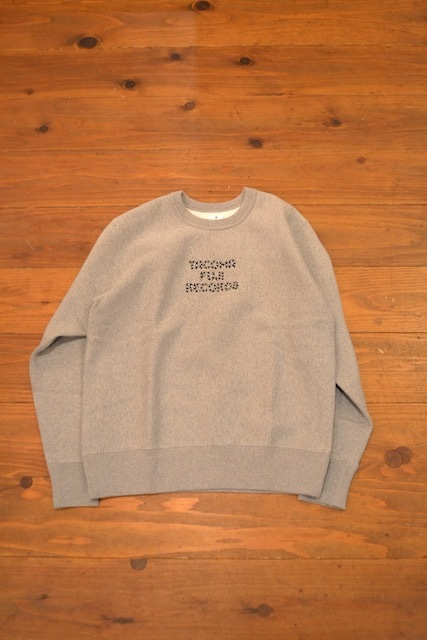TACOMA FUJI RECORDS / TACOMA FUJI RECORDS ZEBRA PATTERN LOGO SWEAT