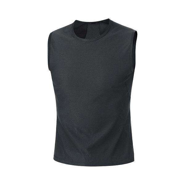GORE(ゴア) メンズ BASE LAYER SLEEVELESS SHIRT M ベース レイヤー スリーブレス シャツ