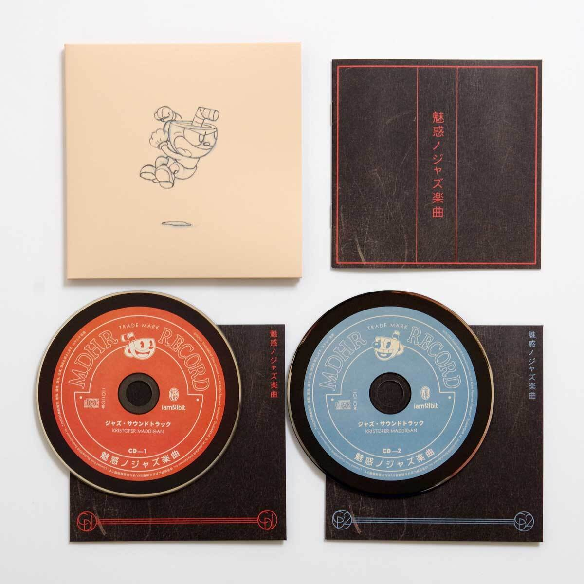 カップヘッド / CUPHEAD『魅惑ノジャズ楽曲』(CD2枚組) / iam8bit