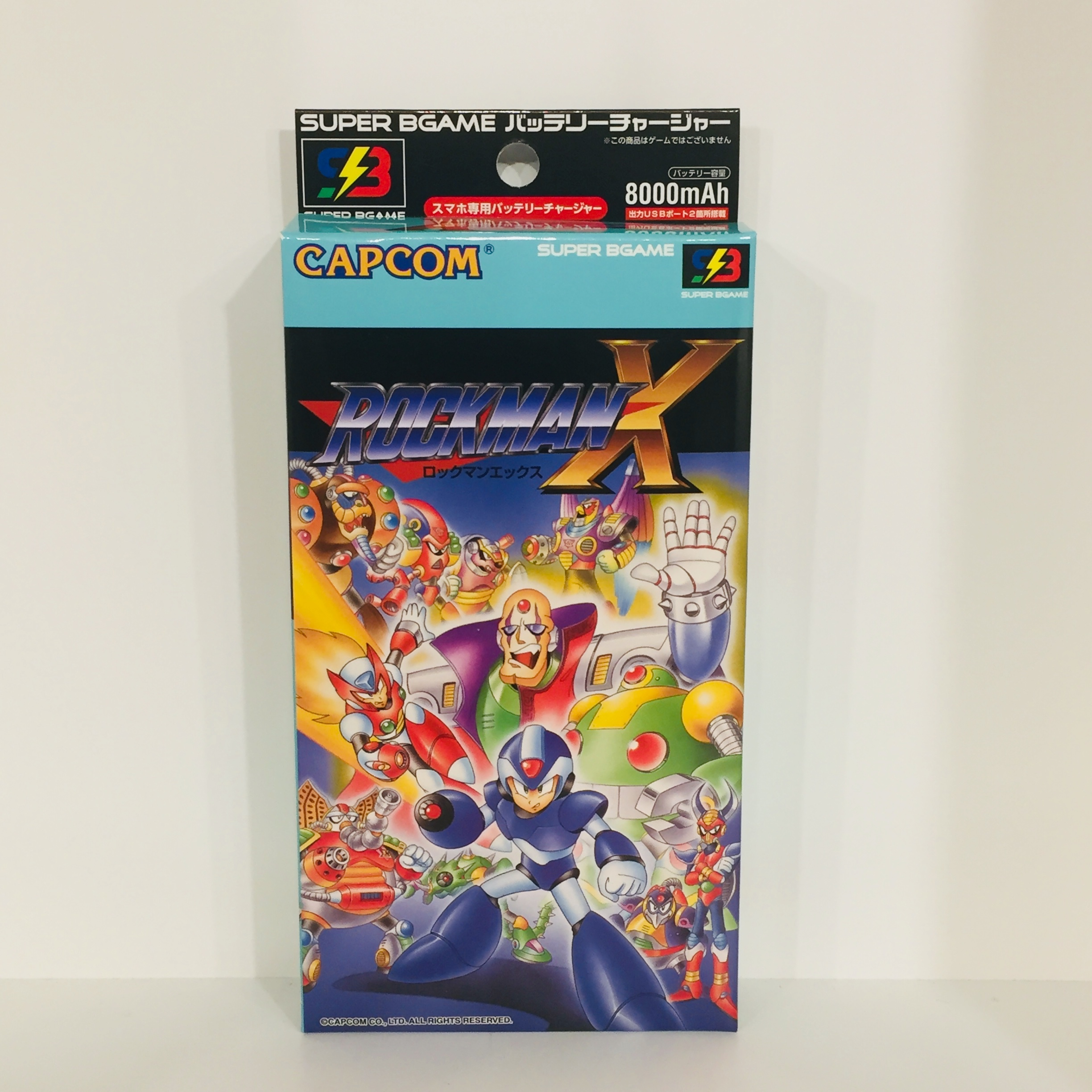 SUPER BGAME / CAPCOM CLASSICS ロックマンX (SBGC-RX)