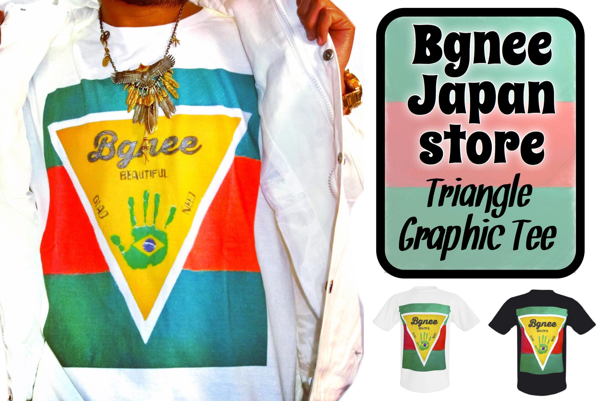 Bgnee triangle graphic Tee