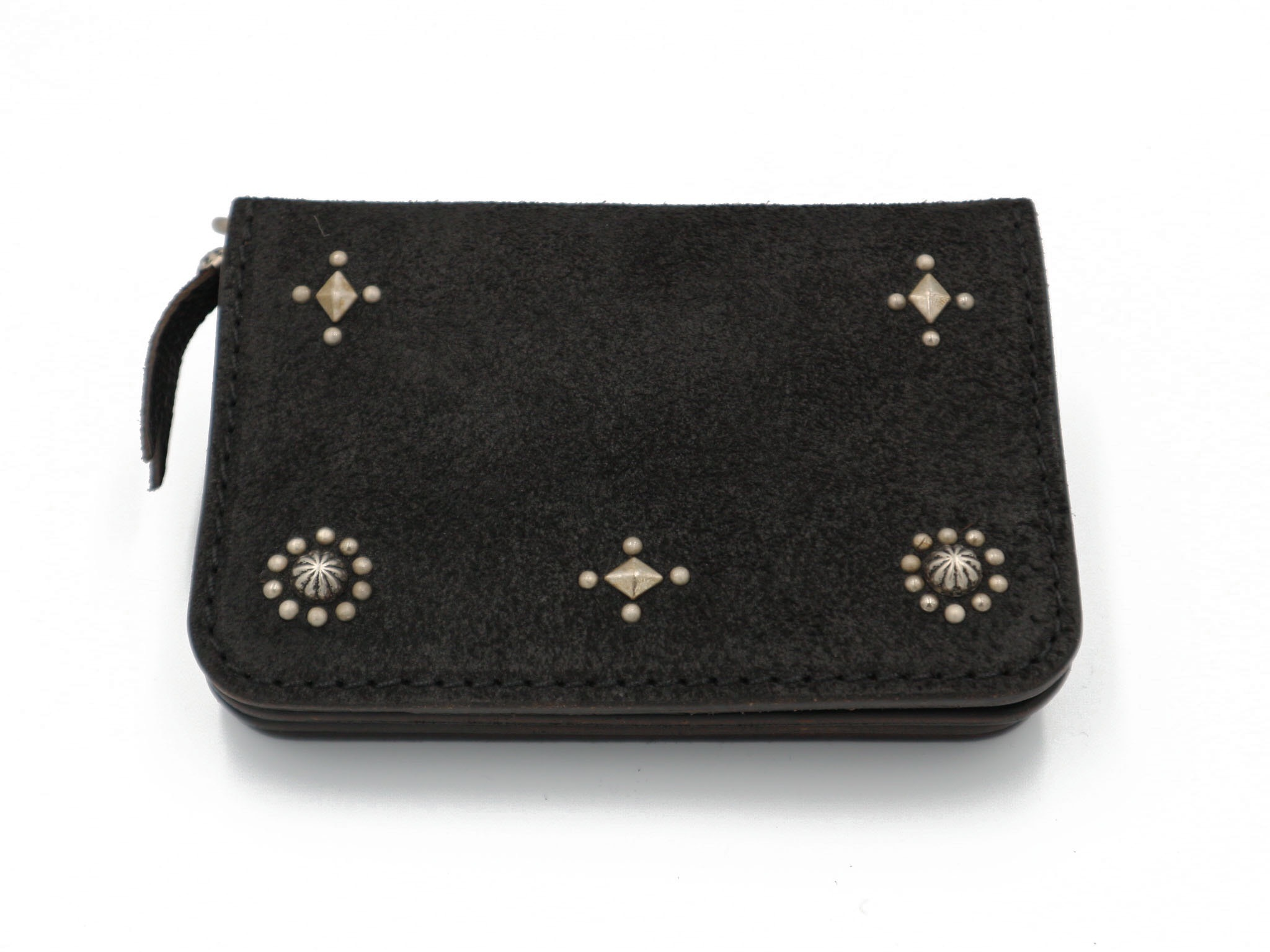 6inch STUDS WALLET (CROSS & SUN)