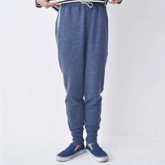 Knit Jogger Pants(ブルー)