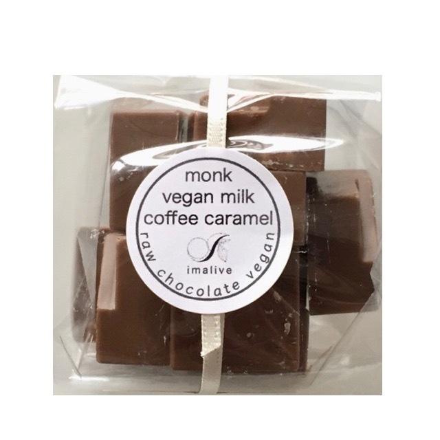 monk vegan mylk coffee caramel bag (羅漢果ビーガンミルクコーヒーキャラメルバッグ)raw chocolate