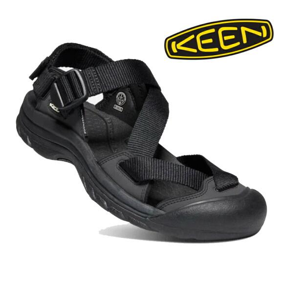 KEEN キーン メンズ サンダル ゼラポート ツー  Black/Black 1022418