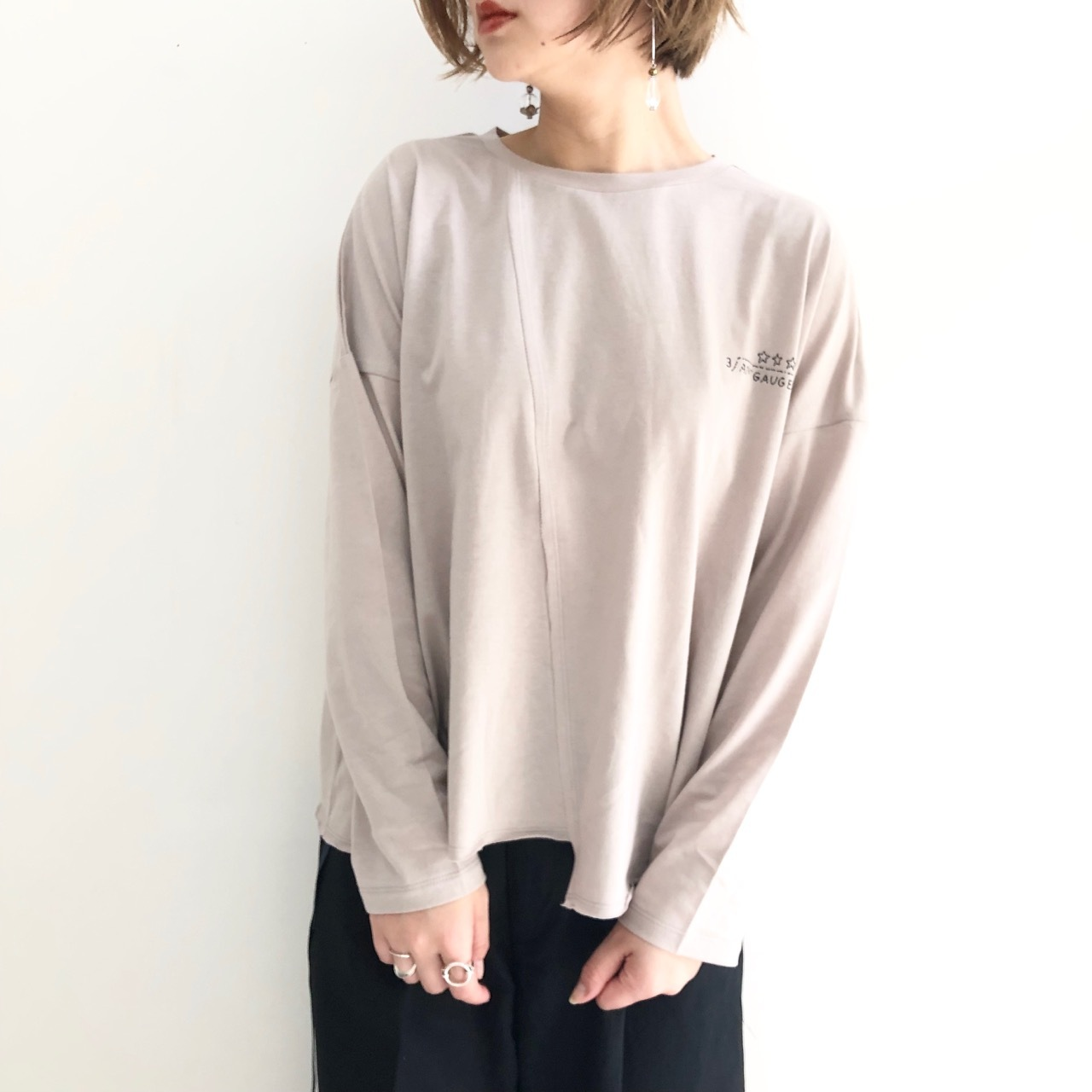 【 ANTGAUGE 】- AB837 - ロングスリーブプリントTeeシャツ