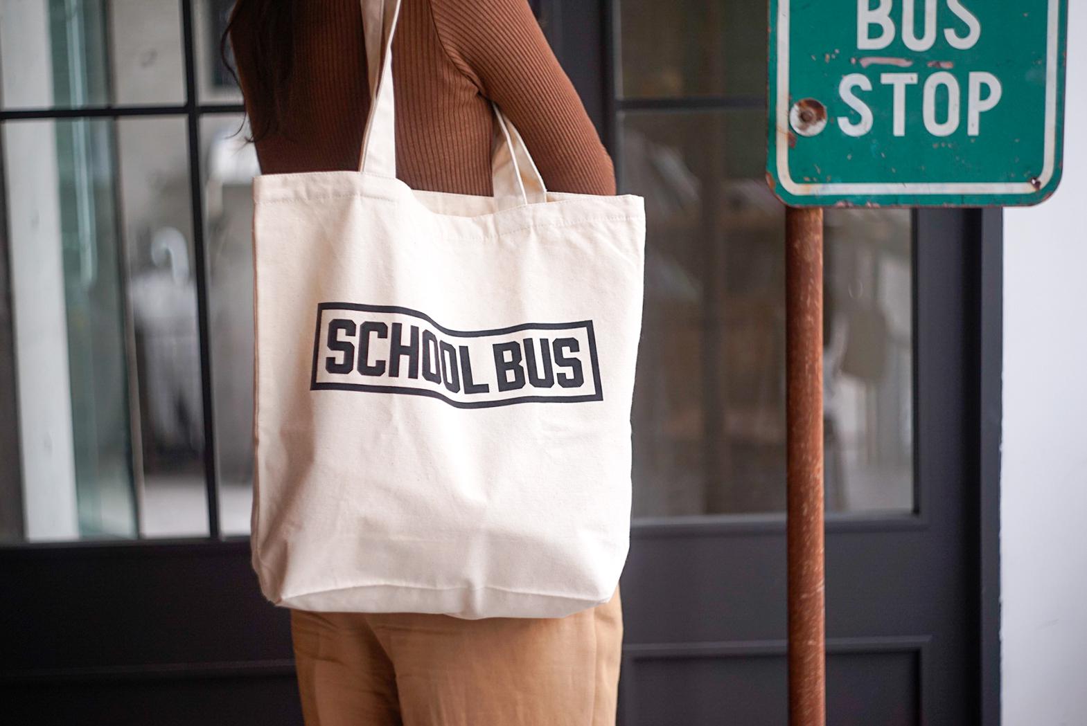 Original tote bag -SCHOOL BUS-