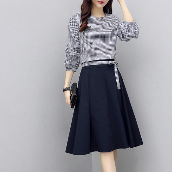 【セットアップ】スプリングファッショントップス+スカート2点セット13187700