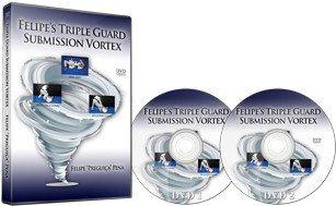 フェリペ・プレギーサ・ペナ トリプル ガード・サブミッション ボルテックス  DVD2枚セット|ブラジリアン柔術教則DVD
