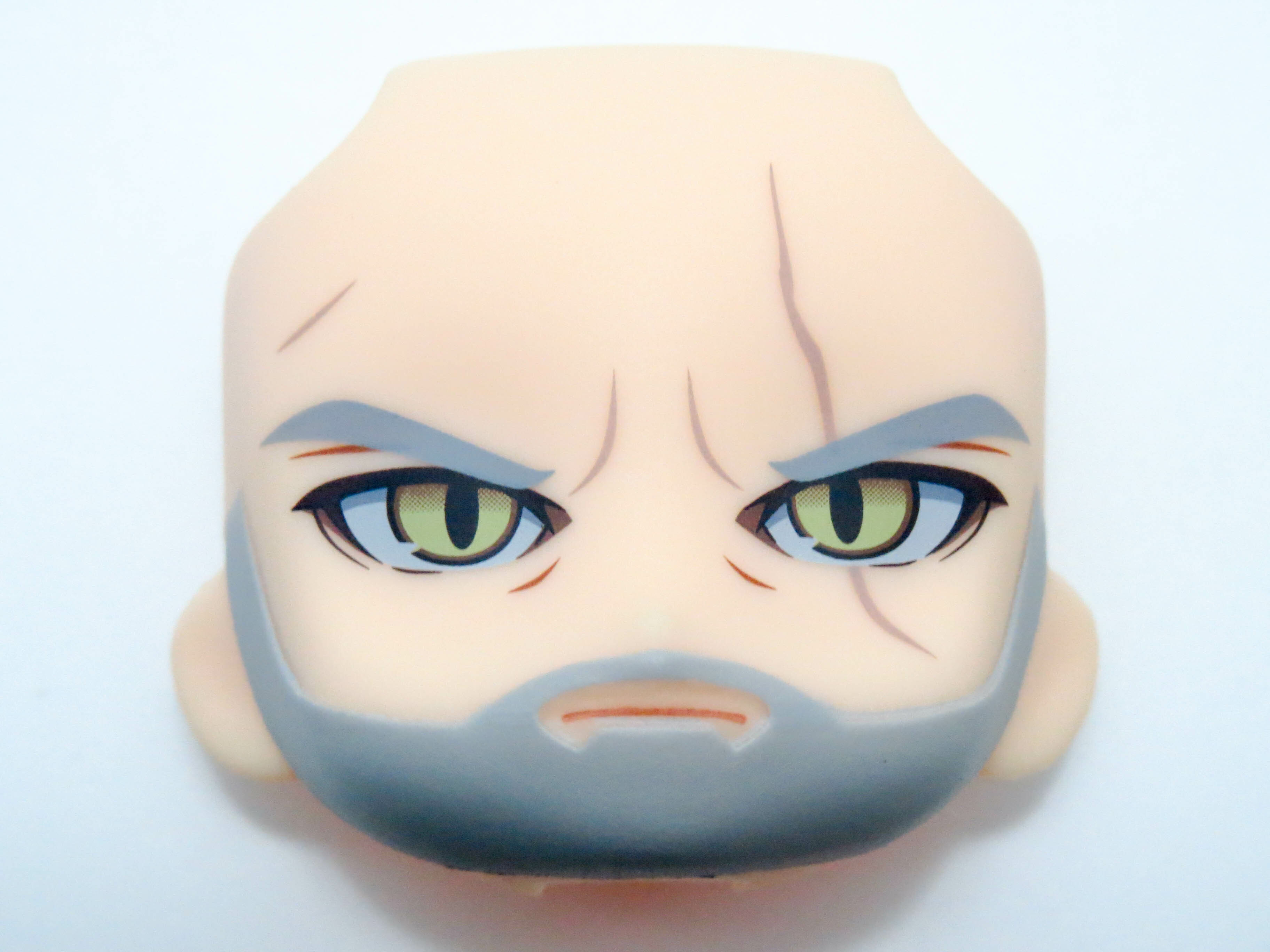【SALE】【907】 ゲラルト 顔パーツ 普通 ねんどろいど