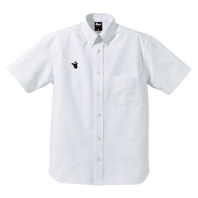 King Logo Oxford Short Sleeve Shirt / White - 画像5